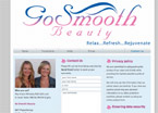 Go Smooth Beauty website screenshot