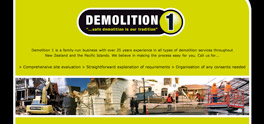 Demolition 1 website screenshot